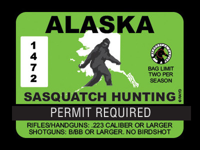 Alaska Bigfoot Hunting Permits