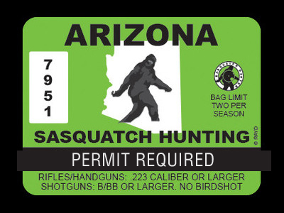 Arizona Bigfoot Hunting Permits