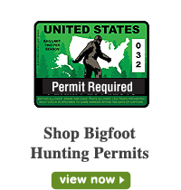 Bigfoot Hunting Permits
