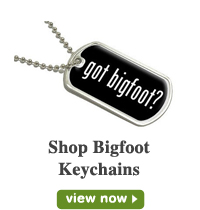 Bigfoot Keychains