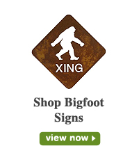 Bigfoot Signs