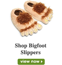Bigfoot Slippers