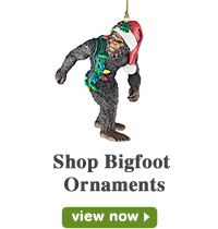 Bigfoot Ornaments